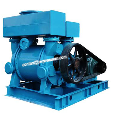 Liquid ring vacuum pump service