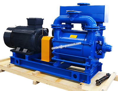 water-ring-vacuum-pump-in-plastic-extrusion-machine-for-degassing
