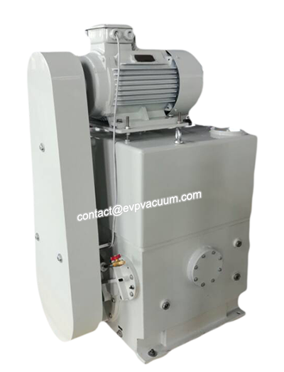 Vacuum pump made of high strength metal
