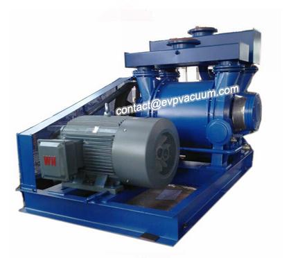 Liquid ring vacuum pump make