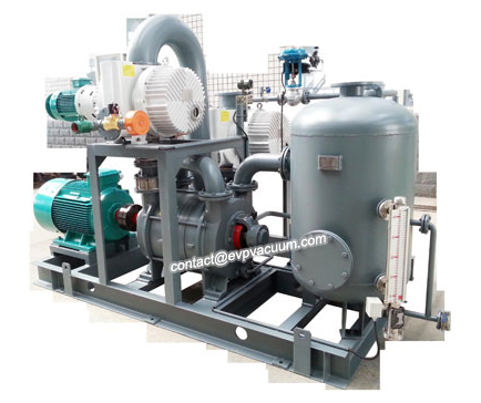 roots-water-ring-vacuum-pump-system-installation