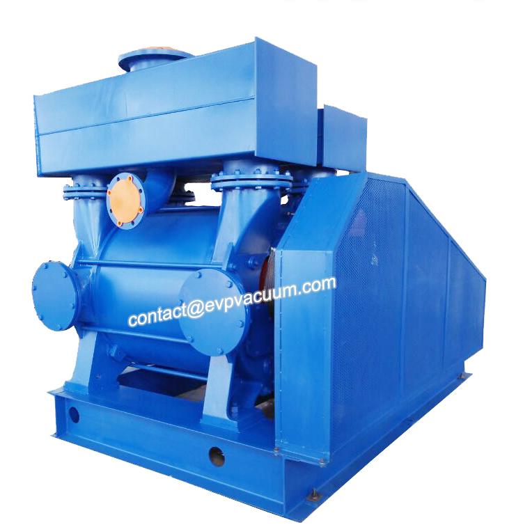How using liquid ring vacuum pump