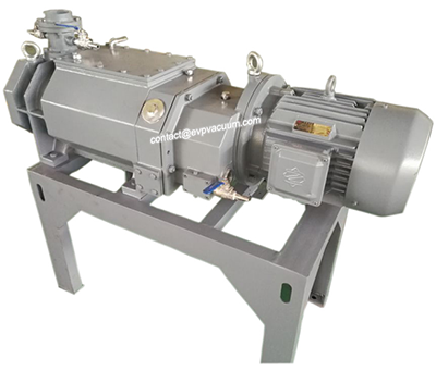 Dry screw vacuum pump make