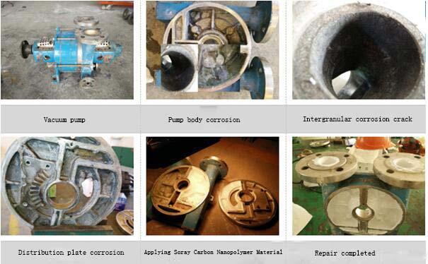 How to repair corrosion vacuum pump