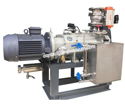 Rotational Screw Vacuum Pump