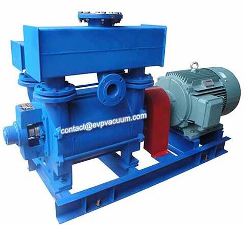 Liquid ring vacuum pump for manufacturing pallet