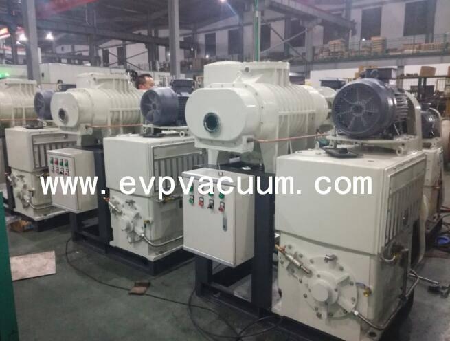 piston vacuum pump system