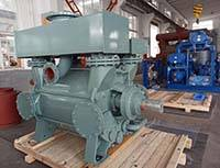 2BE3-40 Liquid ring Vacuum Pump Used In steel degassing In Asia