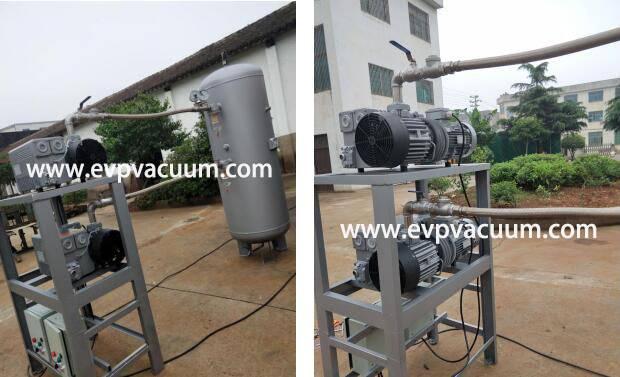 CVS Rotary Vane Vacuum Pump Units Used in Hospital in Europe