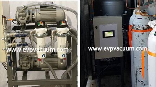 CVS Rotary Vane Vacuum System Used In Medical Equipment In Oceania