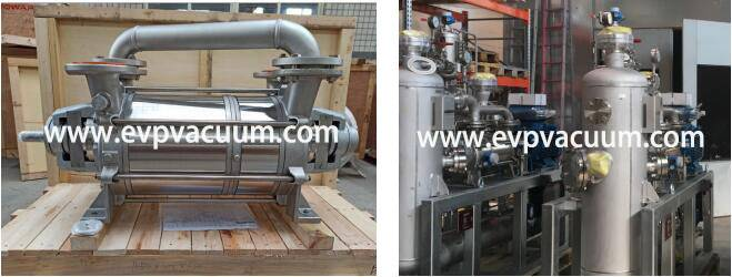 DLV600 Liquid ring Vacuum Pump Used In petrochemical industry In Europe