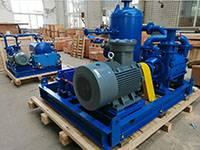 DLV800 Liquid ring Vacuum Pump Close Cycle System Used Palm Oil