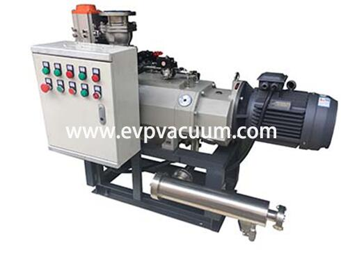 Difference between dry screw vacuum pump and claw vacuum pump