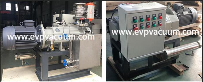Dry Screw Vacuum Pump Used In vacuum distillation in Amyris oil application