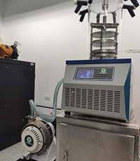 Dry Scroll Vacuum Pump Used In Freeze Dryer Plant In South America