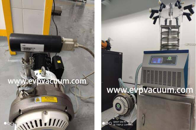 Dry Scroll Vacuum Pump Used In Freeze Dryer Plant