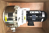Dry scroll vacuum pump Used Inaerospace application