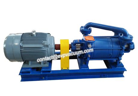 Industrial vacuum pumps for static drying