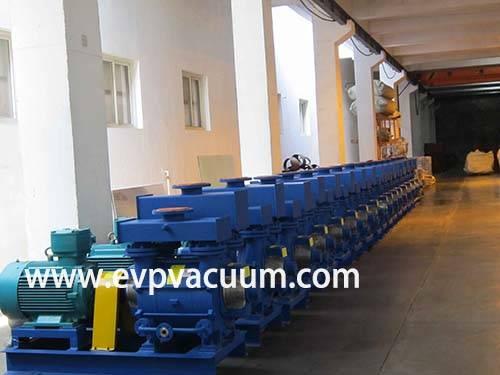 Liquid ring vacuum pump Used Pharmaceutical application in Asia
