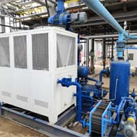 Roots And Oil Ring Vacuum System Used In Waste Oi Refining Plant