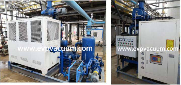 Roots And Oil Ring Vacuum System Used In Waste Oi Refining Plant1