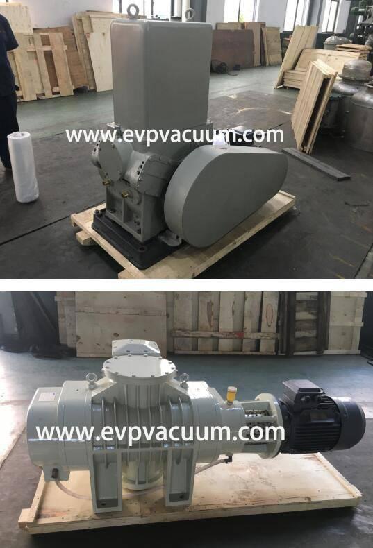 Roots Vacuum Pump Used in Vacuum Rolling Coating Machine