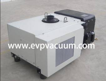 Rotary Vane Vacuum Pump Used In animal feed production process i