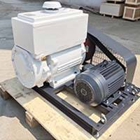 Rotary Vane Vacuum Pump Used In manufacturing Compounds thermoplastics Plant In South America