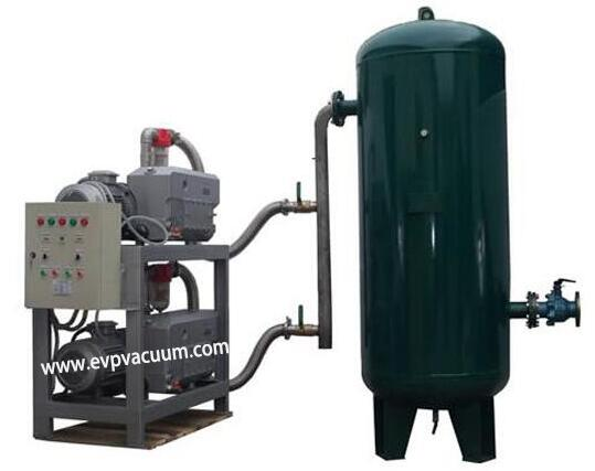 Vacuum system in sheeting machine application