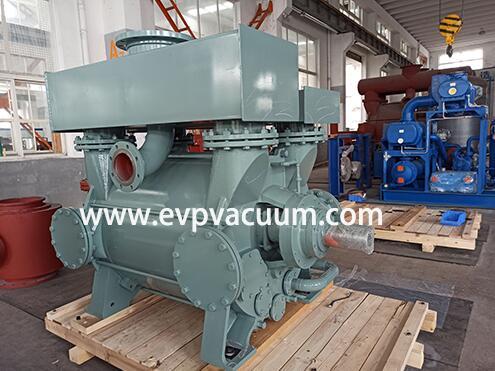 Water ring vacuum pump used in steel degassing