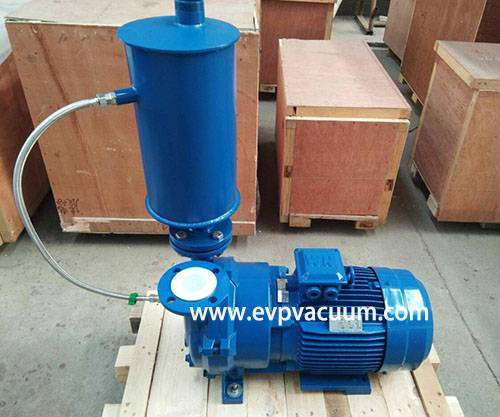 water ring vacuum pump with air water separator