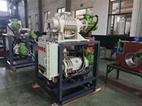 JZJA(P)LG300-2 Roots Dry Screw Vacuum System used in Sterilized Alcohol manufacturing
