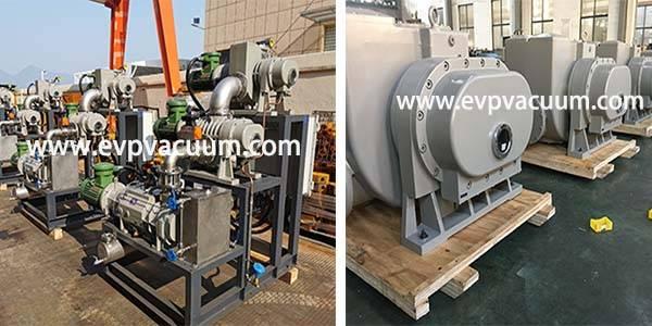 JZJPLG300-22(ZJP300 Roots PumpZJP150 Roots PumpLG-70 Dry Screw Pump) Vacuum system Used In Bulk Drug In Middle East