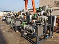 JZJPLG300-22(ZJP300 Roots PumpZJP150 Roots PumpLG-70 Dry Screw Pump) Vacuum system Used In Bulk Drug