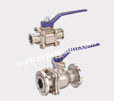 Manual vacuum ball valve