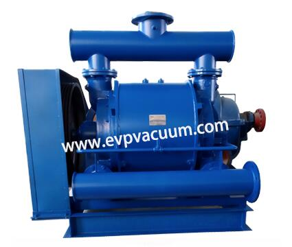 Medical vacuum pump for inhaling anesthetic gas