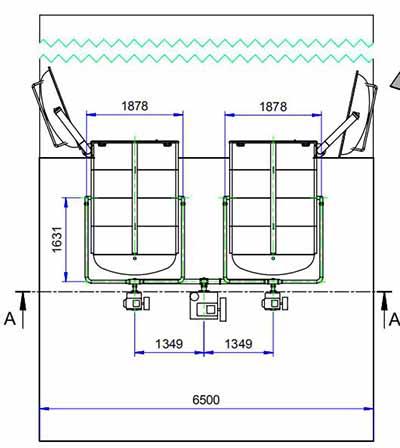 Piston Vacuum pump used in freezer dryers