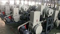Roots-rotary piston vacuum system Used In magnesium application