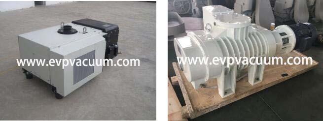 Rotary Vane Vacuum Pump and Roots Pump Used in Mirror Vacuum Coating in Europe