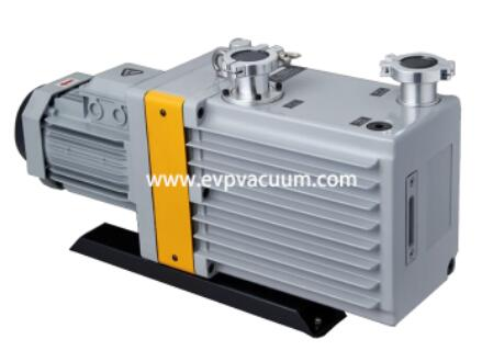 Vacuum pump for cannery exhaust and seal