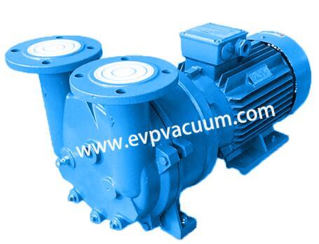 Vacuum pump for door panel extruder