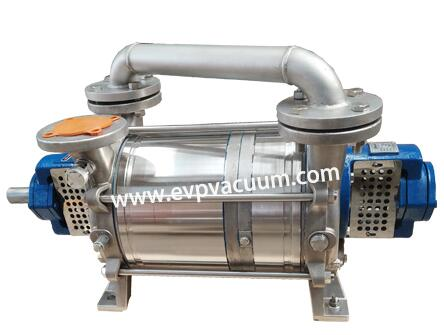 Vacuum pump for preparing CO2