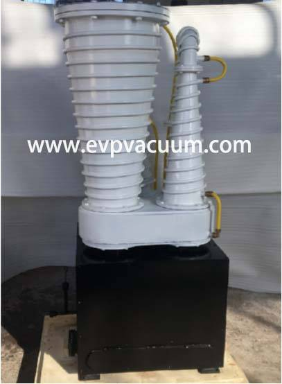 Z300 oil Booster Vacuum pumps Used Vacuum Furnace In Europe