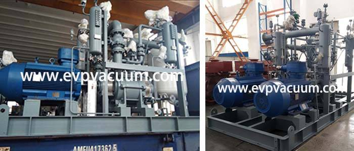 liquid ring compressor used In Petro-chemical application in Asia