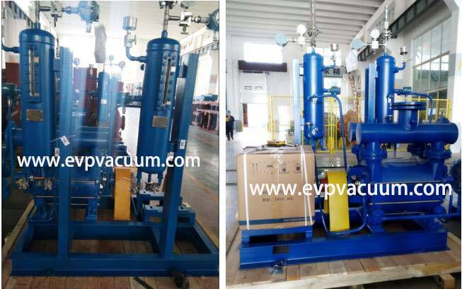 liquid ring vacuum pump with Plan 52 system used In gas refinery plant application in Europe