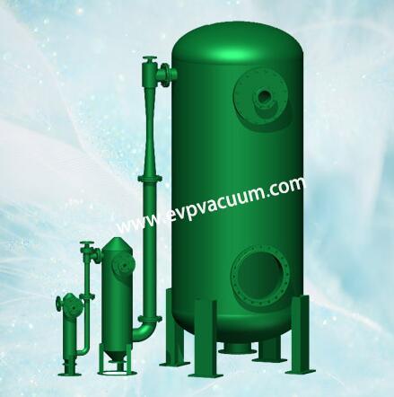 Jet condensing vacuum system