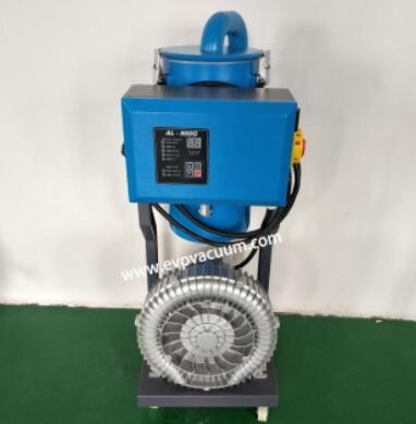 side passage blower is designed