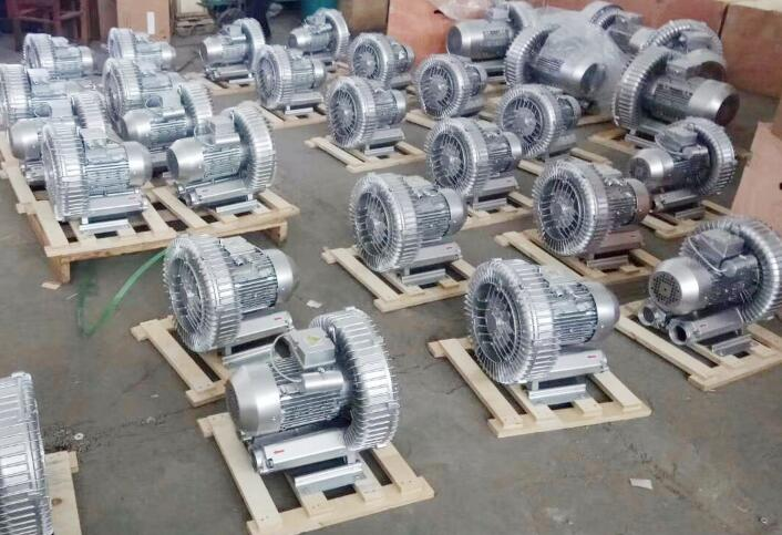 Side channel blowers for plastics industry
