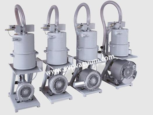 Side channel blowers produce relatively