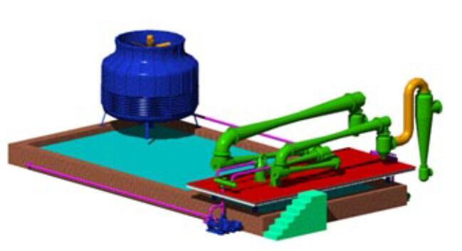 Steam jet vacuum pump in magnesium smelting industry